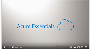 Microsoft Azure Essentials video