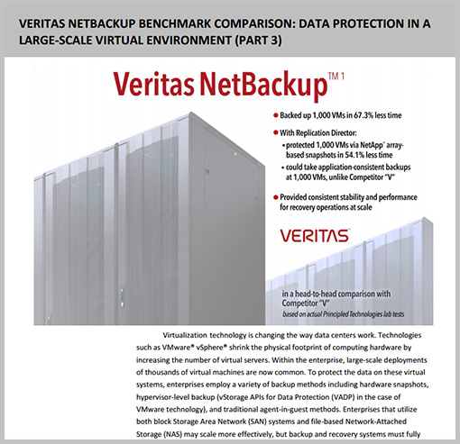 NetBackup vs Competitor